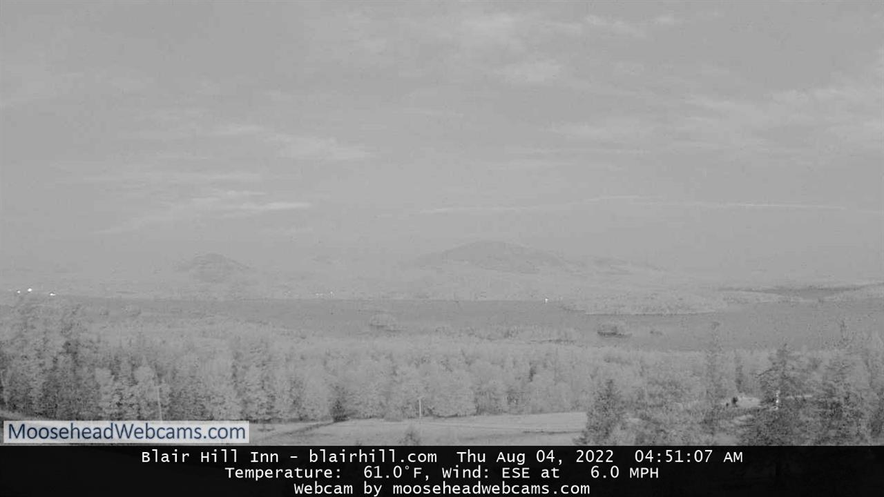 Webcam Blair Hill Moosehead Lake - Greenville Maine Live webcamera