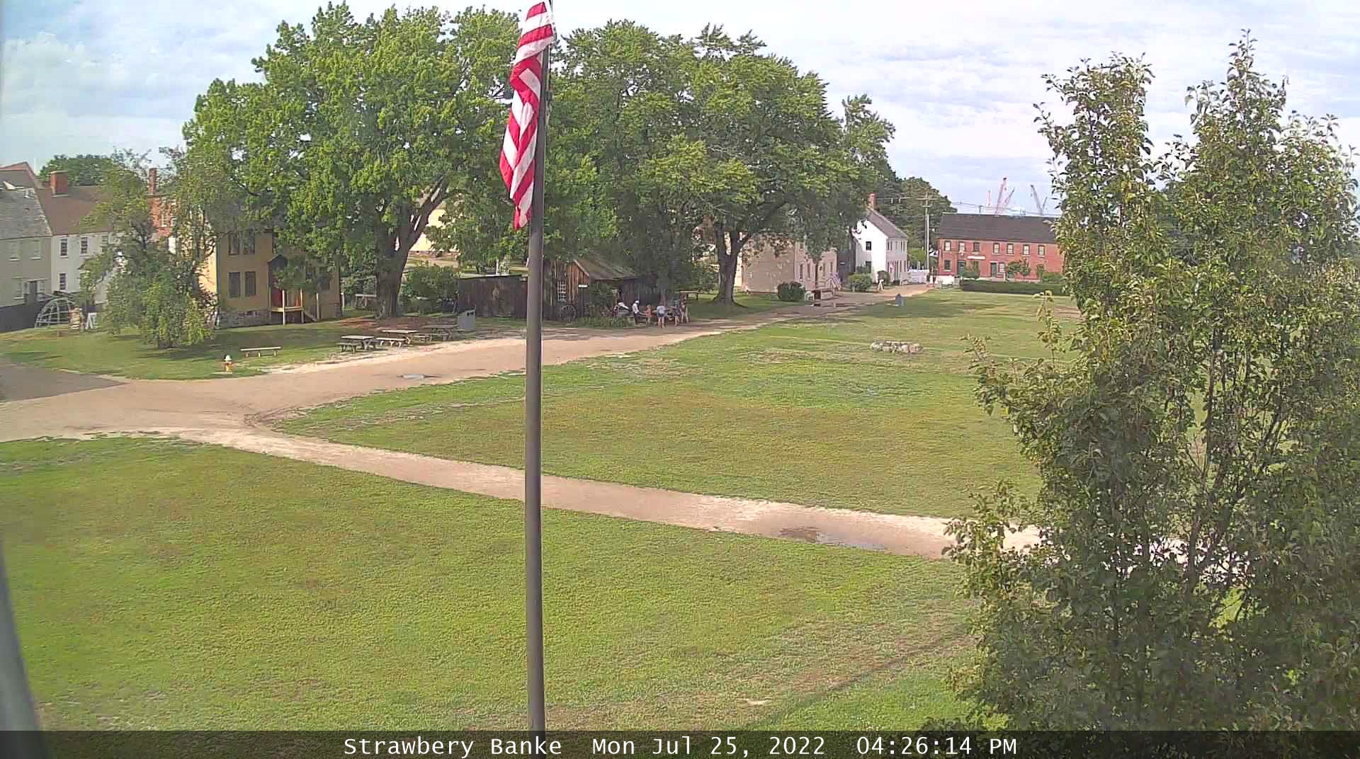 Strawbery Banke webcam